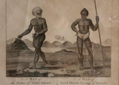 "Thornton - ""Natives Of Two Islands"", 1793, $130, Engraving"
