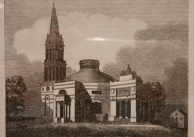"Unknown - ""Monumental Church, At Richmond"", Ca 1850, $50, Engraving"