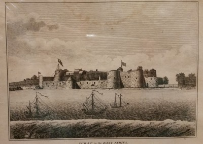 "Unknown - ""Suart In The East Indies"", Ca 1700, Engraving, $130"