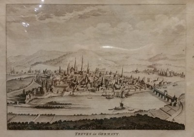 "Unknown - ""Treves In Germany"", Ca 1700, Engraving, $130"