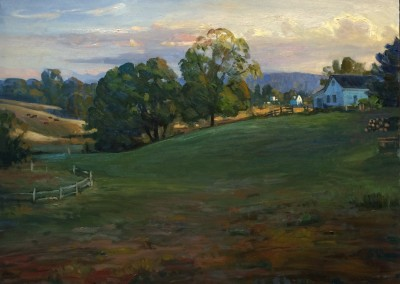 "Ken Knowles - ""Greenbrier Home	"", 24x30, Oil"