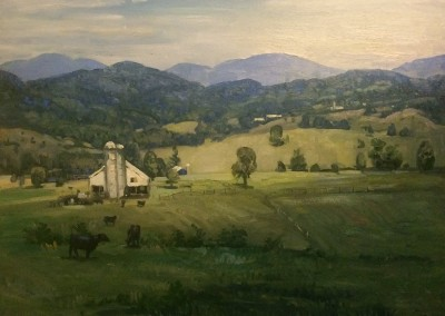 "Ken Knowles - ""Greenbrier Valley"", 20x24, Oil"