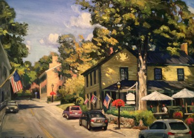 "Ken Knowles - ""Lewisburg"", 16x20, Oil"