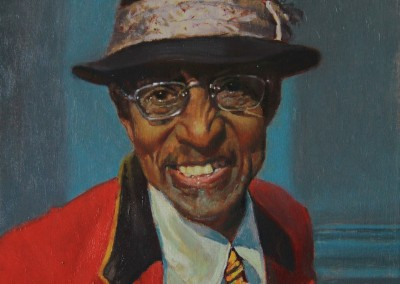 "William Maughan - ""The Smile of Greenbrier"", 14x11, Oil, SOLD"