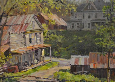"Stapleton Kearns - ""Old Home"", 16x20, Oil"