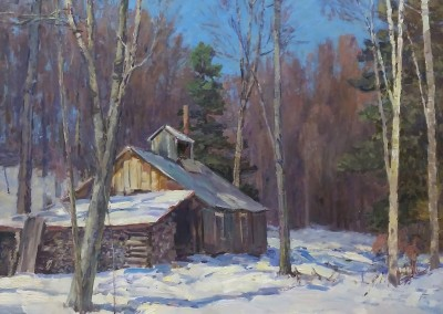 "Stapleton Kearns - ""Sugaring Off"", 26x29, Oil"