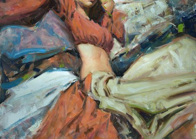 "Kevin Beilfuss - ""Grace"", 30x24, Oil"