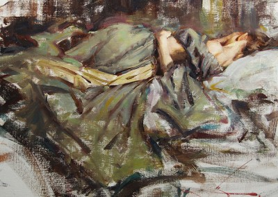 "Kevin Beilfuss - ""Sleep"", 16x20, oil, SOLD"