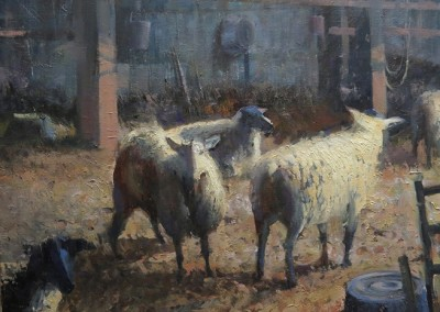 "Roger Dale Brown - ""Their Home"", 24x30, Oil"