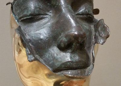 "William Ludwig - ""Mirror 0110"", Bronze, SOLD"