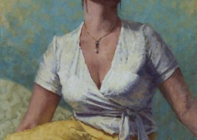 """Kevin Feary - """"Jessamyn"""", 20x16, price 1460"""