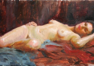 "Stuart Fullerton - ""Rachel Sleeping"", 10x20, price 700"