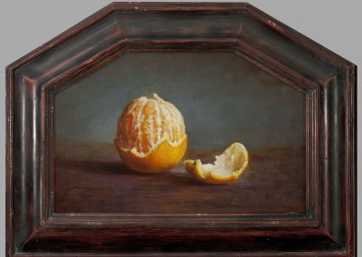 "Bruce Gherman - ""Orange and Peel"", 7x10.25, price 950"