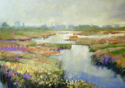 "Richard Laurent - ""Meadowlands"", 12x24, $1800"