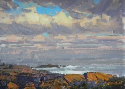 "Tim Bell - ""Passing Clouds"", 14x18, Oil, Sold"