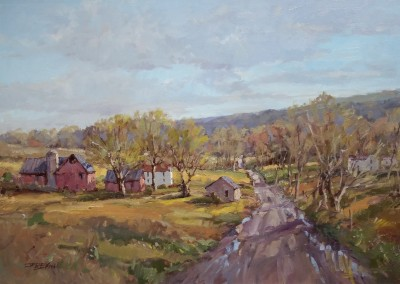 "Jerry Smith - ""Rolling Cadence"",  24x36, Oil"