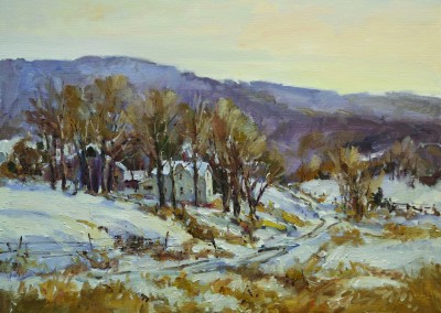 "Jerry Smith - ""Violet Hills"", 20x24, Oil"