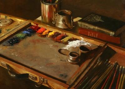 Warren Chang - Artist's Palette - 14x18