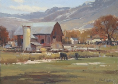 John Poon - Valley Farm, 20x16,  SOLD