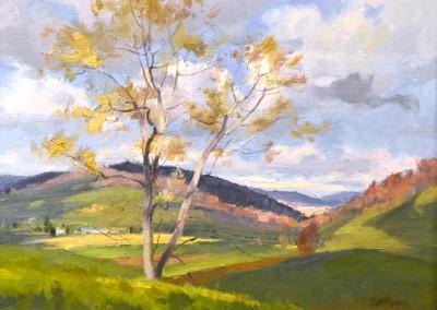 "Kenn Backhaus - ""Valley"", 14x18, Oil"
