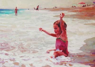 """Cameron Smith - """"Summer Joy"""", 30x40, Acrylic, SOLD"""