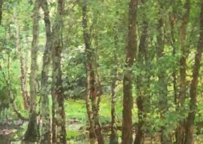 "Cameron Smith - ""Wet Feet"",  30x24, Acrylic, SOLD"