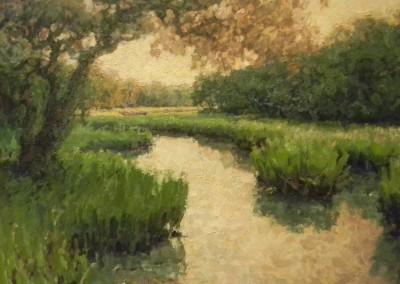 "Cameron Smith - ""Path Through the Salt Marsh"", SOLD"