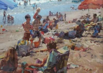 """Cameron Smith - """"Summer Color"""", 36x36, Acrylic, SOLD"""