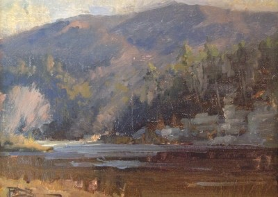 "Roger Dale Brown - ""Autumn"", 9x12, Oil"