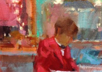 "Randall Sexton - ""Drapers"", 8x10, Oil"