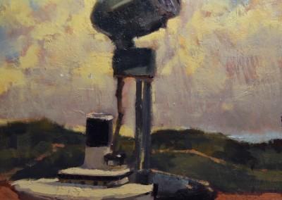 "Randall Sexton - ""Ship Story"", 16 x 12, Oil"