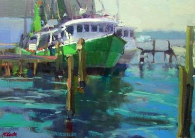 "Randall Sexton - ""Unlikely Pair"", 11 x 14, Oil"