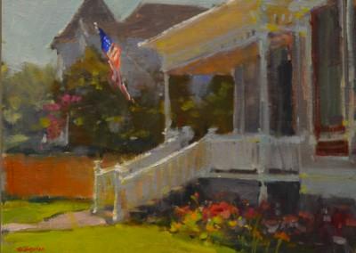 "Randall Sexton - ""The 4th"", 12x16, Oil"