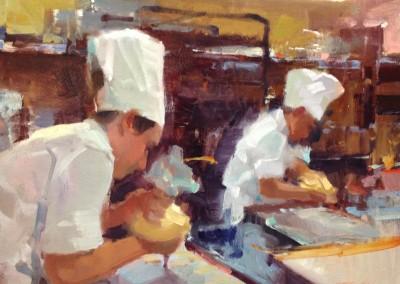 "Randall Sexton - ""Butter Cream"", 14x18, Oil, SOLD"