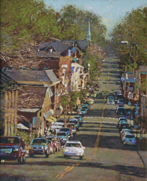 "William Maughan - ""Lewisburg"", 20x16, Pastel"