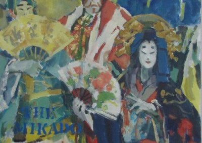 "Charles Movalli - ""Mikado"", 36x36, Acrylic, SOLD"