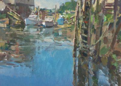 "Charles Movalli - ""Midsummer"", 30x40, acrylic, $8500"