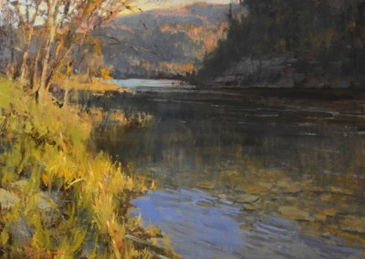 """Roger Dale Brown - """"Afternoon on the Greenbrier"""", 30x40, oil"""