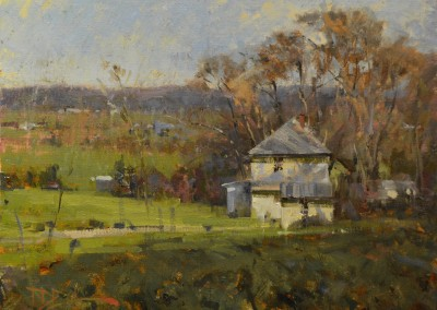 "Roger Dale Brown - ""Tuckwiller Farm"", 18x24, Oil"