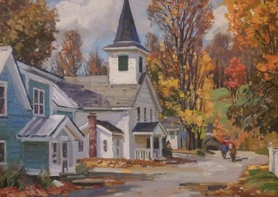 "TM Nicholas - ""Autumn Waterville"", 11x14, oil"
