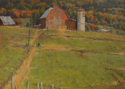 """Roger Dale Brown - """"Rolling Pastures"""",  50x50, Oil, Sold"""