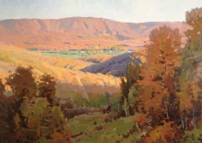 "John Poon - ""Evening's Reach"", 24 x 30, acrylic"