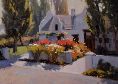"John Poon - ""Rose Garden"", 14x18, oil"