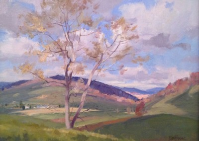 "Kenn Backhaus - ""Valley"", 14x18, Oil"