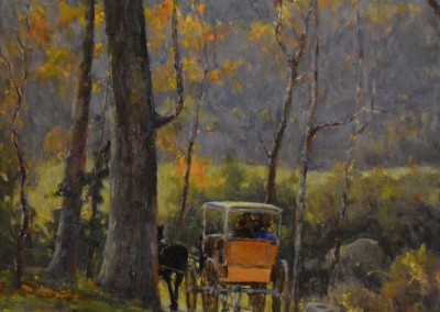 "Perry Austin - ""Carriage Ride"", 16x20, Oil"