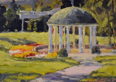 "Perry Austin - ""Spring House"", 9x12, Oil, SOLD"
