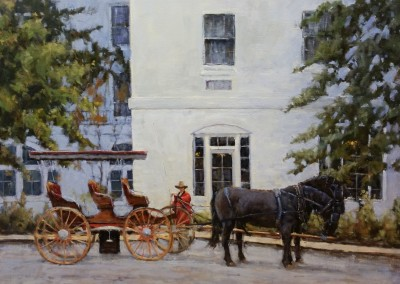 "Perry Austin - ""Carriage Ride"", 24x30"