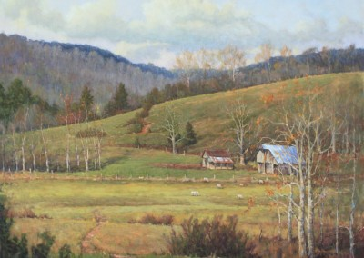 "Perry Austin - ""If These Hills Could Talk"", 48x60, oil"