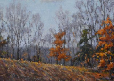 "Perry Austin - ""Laid By, Monroe County"", 12x12, oil"