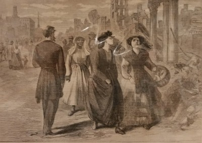 "A.R. Ward - ""Ladies Going To..."", $50, Engraving"